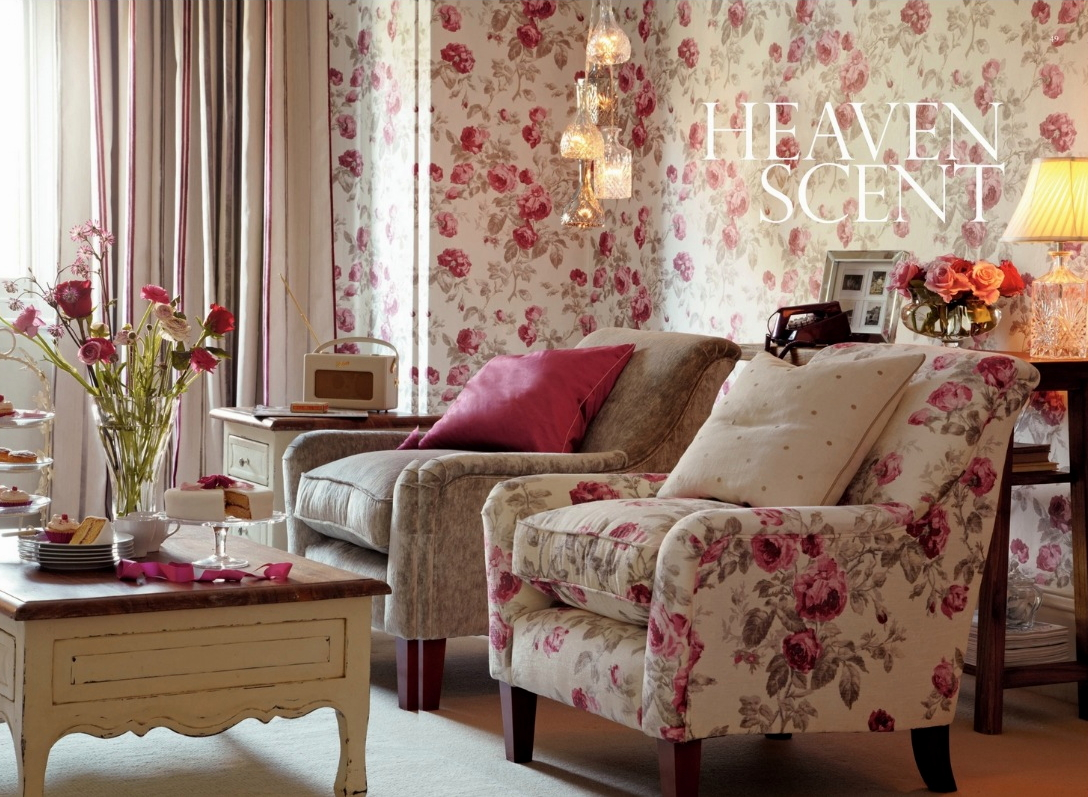 The Victorian Floral Print Style. Photo Courtesy Laura Ashley. Part 58
