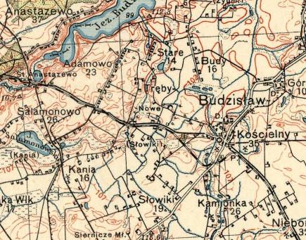 anastazewo-budzislaw-map